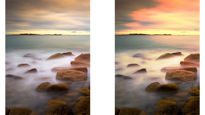 how to achieve aesthetic pictures, aesthetic photo editing, sea scene