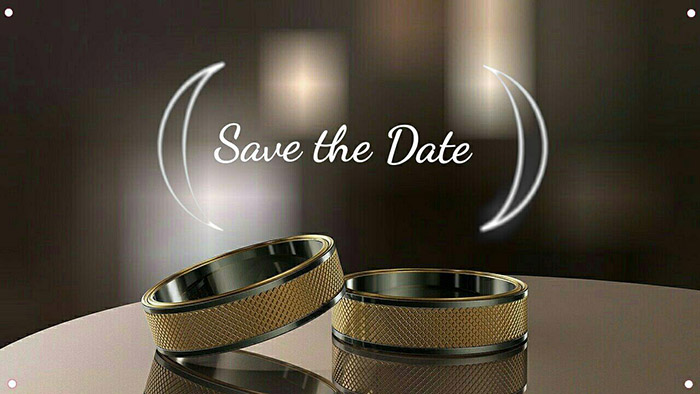 digital invite, wedding invite, save the date, LightX app, rings, wedding rings, wedding picture