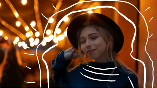 how to draw on photos, doodle on pictures, girl, party, girl in party, girl laughing