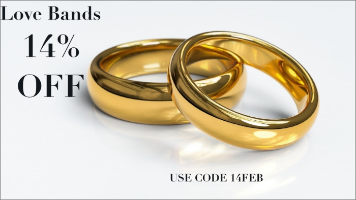 valentines day gifts, valentines day offers, rings for him, rings for her, gifts for her, jewelry ad, love bands for couples, couple gifts, cute couple gifts