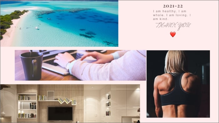 how do you make a vision board, how to make digital vision board